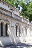 Tempel犹太教堂在克拉科夫, Polan犹太区  免版税库存图片