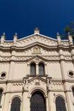 Tempel犹太教堂在克拉科夫kazimierz区在miodowa街道上的波兰 库存照片