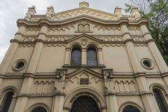 Tempel犹太教堂 图库摄影