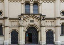 Tempel犹太教堂 免版税库存图片