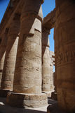 Tempel in Ägypten lizenzfreies stockbild