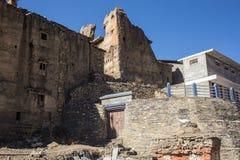 Tempel överst av berget Arkivfoton