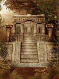 Tempel 1 van de fantasie Stock Fotografie