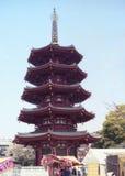 tempel 100 Arkivfoto