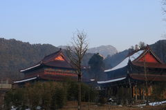 tempel Royaltyfri Fotografi