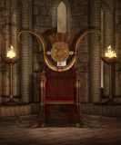 Tempel 6 van de fantasie Royalty-vrije Stock Afbeelding