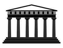tempel royaltyfri illustrationer