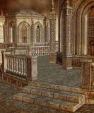 Tempel 9 van de fantasie stock illustratie