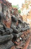 Tempel alt in Wat Chai Watthanaram Lizenzfreie Stockfotografie