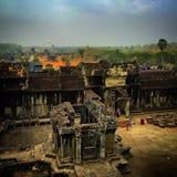 Tempel in Angkor Royalty-vrije Stock Foto's
