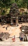 Tempel Angkor Wat Stockbilder