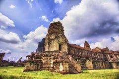 Tempel in Angkor Wat Stock Foto