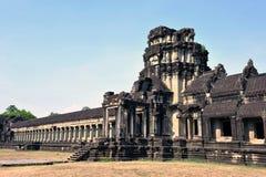 Tempel Angkor Wat Cambodia Royaltyfria Bilder