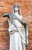 Tempel Antonius Faustina Roman Forum Rome Italy för Vestaloskuld royaltyfria bilder