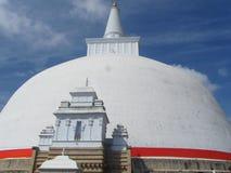 Tempel in Anuradhapura, Sri Lanka Land Stock Afbeelding