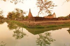 TEMPEL ASIENS THAILAND AYUTHAYA WAT Lizenzfreie Stockbilder