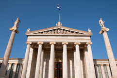 Tempel in Athene Royalty-vrije Stock Afbeeldingen