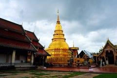 Tempel auf Khao Takeab Berg in Thailand Lizenzfreies Stockbild