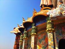 Tempel auf Khao Takeab Berg in Thailand Stockbilder