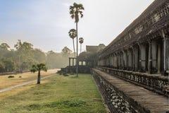 Tempel av angkoren, Kambodja - Angkor Wat Royaltyfria Bilder
