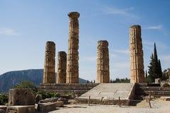 Tempel av Apollo royaltyfria bilder
