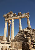 Tempel av Apollo Arkivfoto