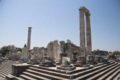 Tempel av Apollo Arkivbild