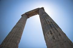 Tempel av Apollo Royaltyfri Foto