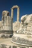 Tempel av Apollo i Didyma, Turkiet Arkivfoto