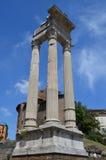 Tempel av Apollo. Rome Royaltyfri Foto