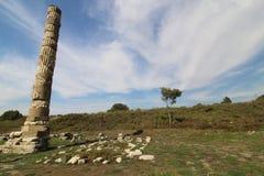 Tempel av Artemisa Turkiet royaltyfri bild