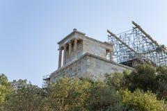 Tempel av Athena Nike Arkivbild