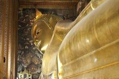 Tempel av att vila Buddha, Bangkok, Thailand Arkivfoto