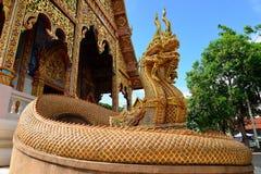 Tempel av buddhism, Thailand Royaltyfri Foto