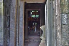 Tempel av Cambodja Arkivfoto