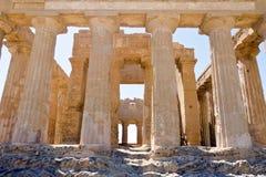 Tempel av Concordia - dal av tempelen Royaltyfri Bild