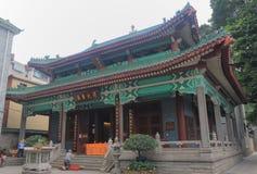 Tempel av de sex Banyanträden Guangzhou Kina Royaltyfri Bild