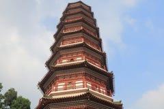 Tempel av de sex Banyanträden Guangzhou Kina Royaltyfri Fotografi