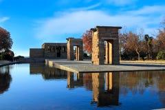 Tempel av Debod Royaltyfri Bild