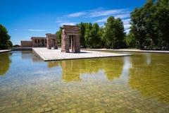Tempel av Debod, Madrid, Spanien - UNESCO Arkivfoto