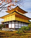 Tempel av den guld- paviljongen Fotografering för Bildbyråer