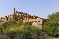 Tempel av den Horus guden Arkivfoton