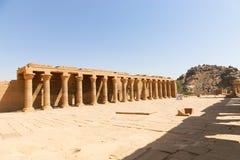 Tempel av den Horus guden Royaltyfri Foto