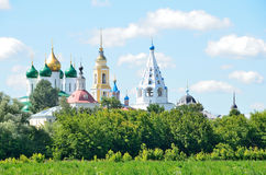 Tempel av den Kolomna Kreml, Moskvaregion, Ryssland Royaltyfria Bilder