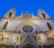 Tempel av den sakrala hjärtakyrkan, Malaga, Spanien II Arkivbild