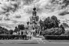 Tempel av den välsignade jungfruliga Maryen Arkivfoton