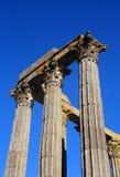 Tempel av Diana, Evora, Portugal Arkivbilder