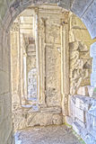 Tempel av Diane, Nimes, Frankrike royaltyfri foto