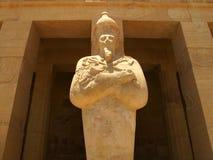 Tempel av drottningen Hatshepsup Historiska monument av forntid royaltyfri foto