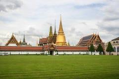 Tempel av Emerald Buddha Bangkok, Thailand Fotografering för Bildbyråer